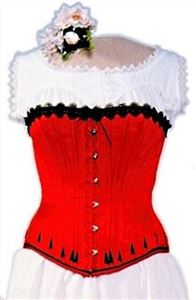 Picture of 1840-1890's Ladies Victorian Corset Pattern #BP1
