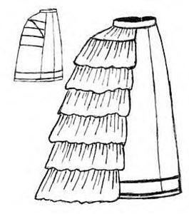 Picture of Grand Bustle Pattern #TV108