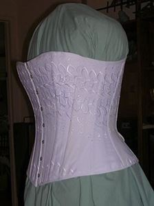 Picture of 1880 Late Victorian Corset Pattern #TV110