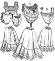 Picture of Edwardian Underwear Pattern #TVE02