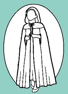 Picture of Child's Cape Pattern #R106
