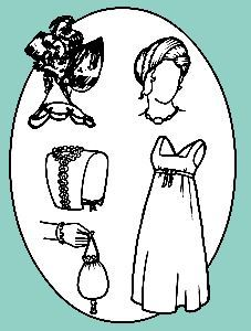 Picture of Early 19th Century Accessories Pattern #R197
