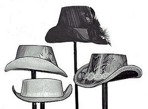 Picture of 1880's Buckram Hat Frame Pattern #TV550