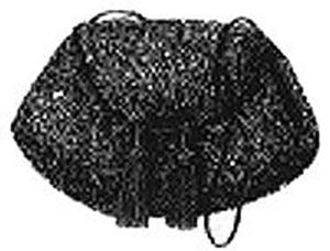 Picture of 1868 Pocket Muff Pattern #A1574