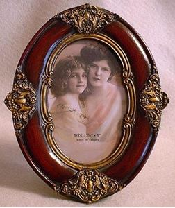 Picture of 5x7 Dresser Resin Frame #2518
