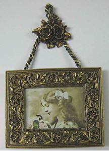 Picture of 3x2 Gold Hanging Frame #2536