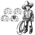 Picture of Western Heritage Shirt Pattern For Boys #B211
