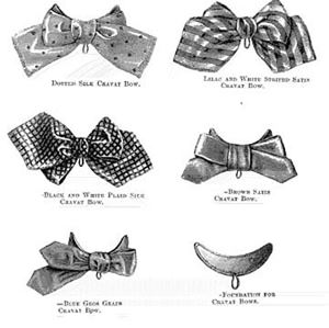 Picture of 1870 Cravat Bows #A1472