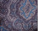 Picture of Blue and Silver Paisley Wild Rag #450-2