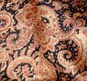 Picture of Gold and Black Paisley Wild Rag #450-5