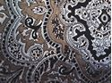 Picture of Tan and Black Paisley Wild Rag #450-13