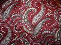 Picture of Wine and Olive Paisley Wild Rag #450-14