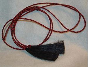 Picture of Black and Red Mix Stampede String #1210
