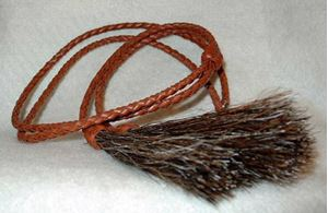 Picture of Brown Leather Stampede String #1220