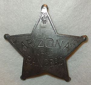Picture of Arizona Ranger Badge #210