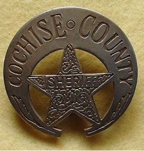 Picture of Cochise County Badge #207