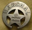 Picture of Marshal IT US Badge #201