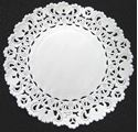 Picture of 5 Inch Round Paper Lace Doilies #1627