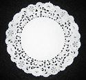 Picture of 5 Inch Round Paper Lace Doilies Bulk #1601