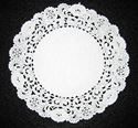 Picture of 8 Inch Round Paper Lace Doilies #1610