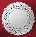 Picture of 9 Inch Round Paper Lace Doilies #1642