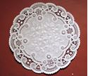 Picture of 10 Inch Round Paper French Lace Doilies #1622
