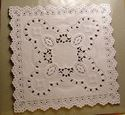 Picture of Square 5 inch Paper Lace Doilies Bulk #1603