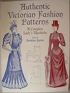 Picture of Authentic Victorian Fashion Patterns #1141