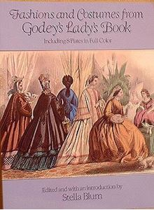 Picture of Fashion & Costumes From Godey's Lady Book #1158