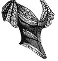 Picture of 1889 Low Bodice Pattern #A1442