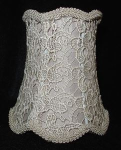 Picture of Lace Bell Lampshade #3510