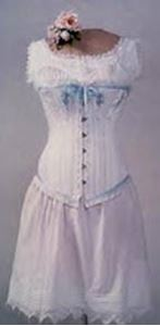 Picture of 1840's-1890's Ladies' Victorian Bust-Core Corset #BP2